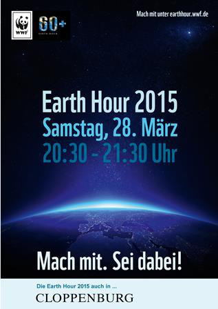 Earth Hour - Plakat Earth Hour - © WWF Deutschland